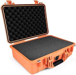 PELI 1500 waterdichte camerabehuizing, IP67 beoordeelde 40L capaciteit, gemaakt in Duitsland, met aanpasbare schuiminlay, ...