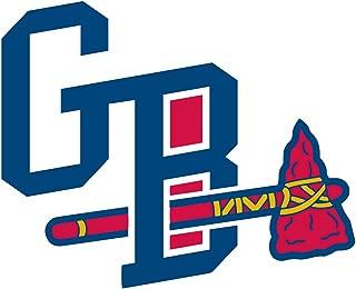 qualityprint Gwinnett Braves MiLB Minor Baseball Sport Home Decor Bumper Vinyl Sticker 14'' X 12''