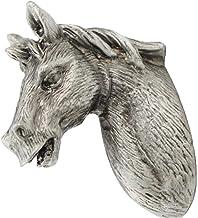 Handles Home Decoration Fashion Creative Horse-vormige deurkruk Classic Antique aluminium deur handvat for kaptafel kast l...