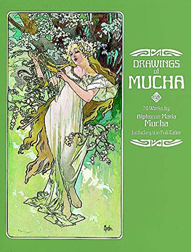 Drawings of Mucha (Dover Fine Art, History of Art)