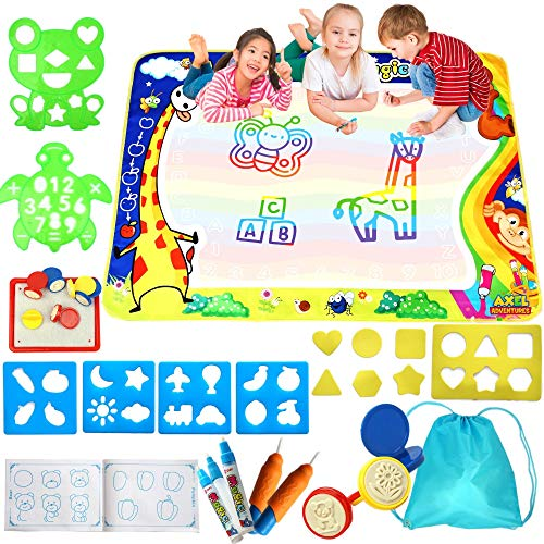 Axel Adventures Aquadoodle Mats For Toddlers Aqua Magic Water Doodle