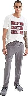 DeFacto V3701AZ Regular Fit Pijama Altı Erkek