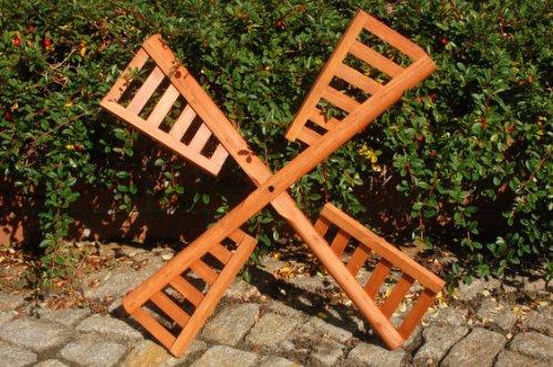 Flügel aus Holz für Windmühle , imprägniert, 60 cm Spannweite