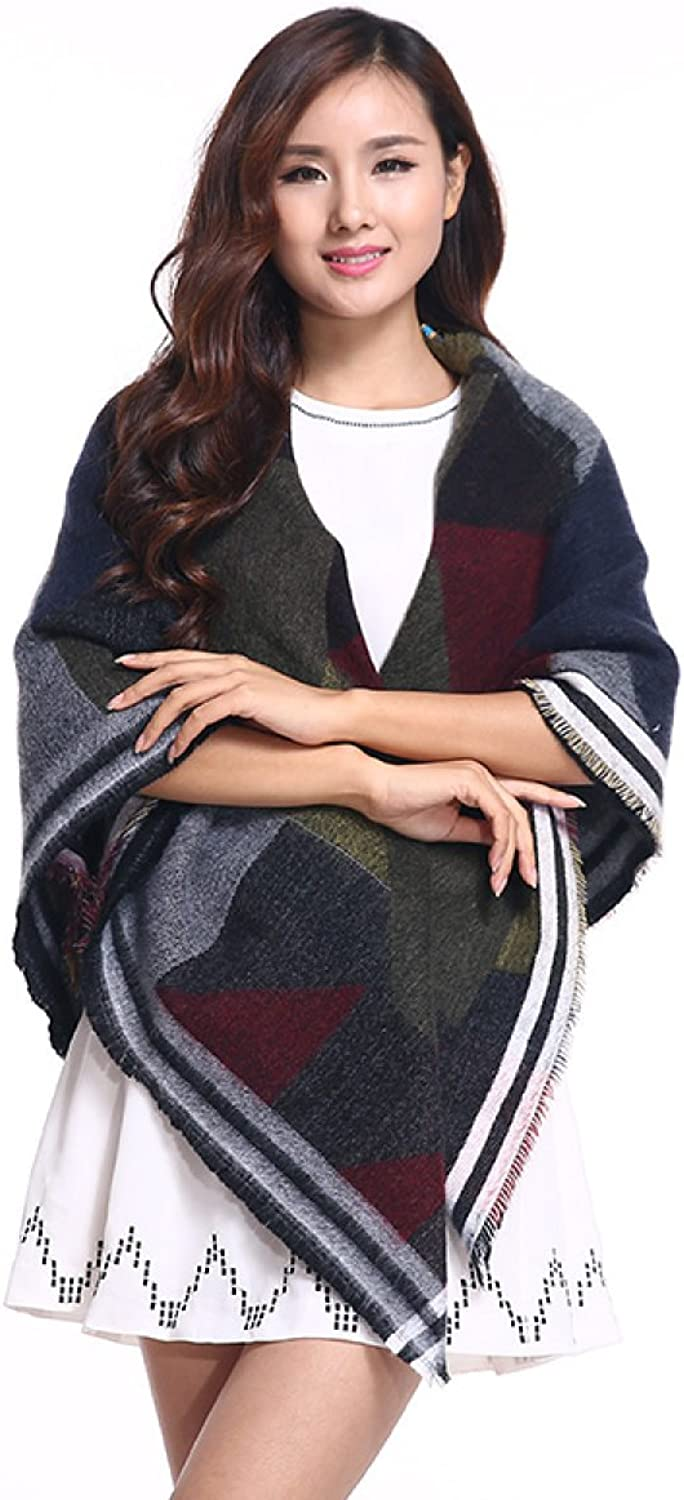 2017 High Grade New Scarf Autumn And Winter Printing Warm Shawl Square,1OneSize