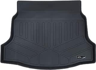 SMARTLINER All Weather Cargo Liner Floor Mat Black for 2017-2019 Honda Civic Hatchback (No Sport or Sport Touring Models)