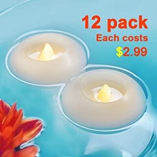 Best coloured floating candles Reviews