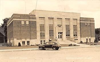 Audubon Iowa Court House Real Photo Antique Postcard K92371