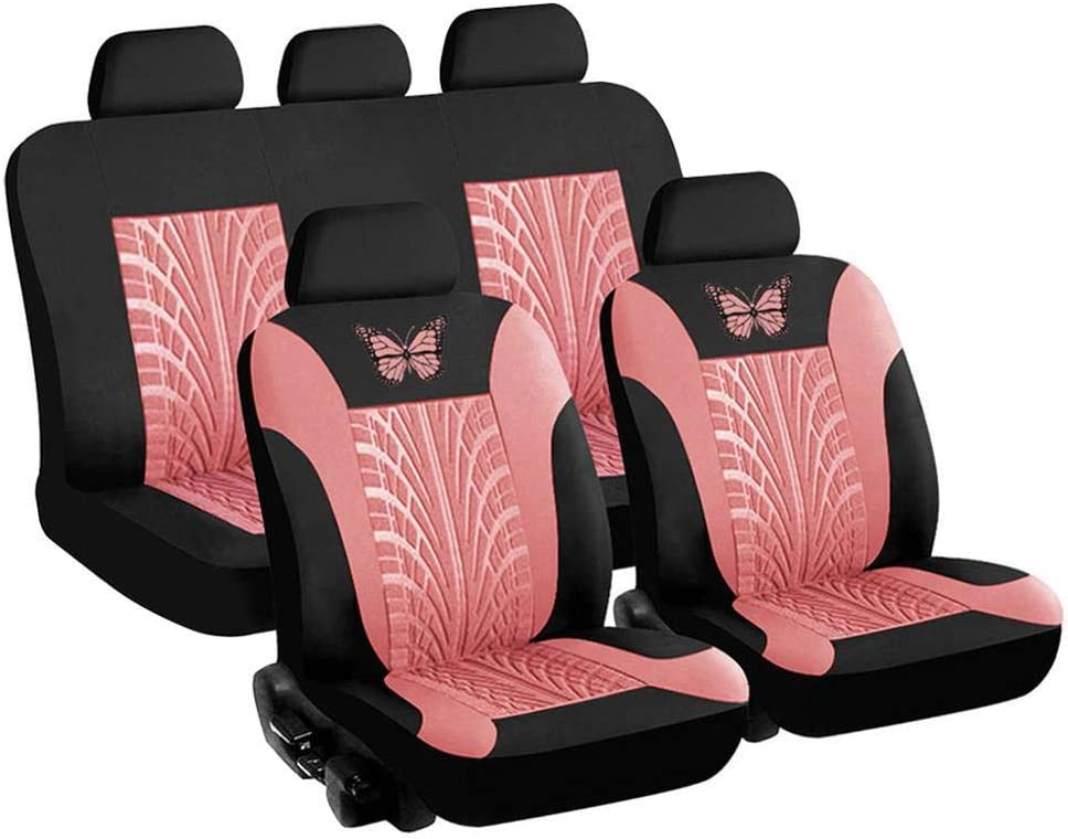 General Front Rear Car Seat Butterfly Clearance SALE Outstanding Limited time Print Covers Breathable 3D