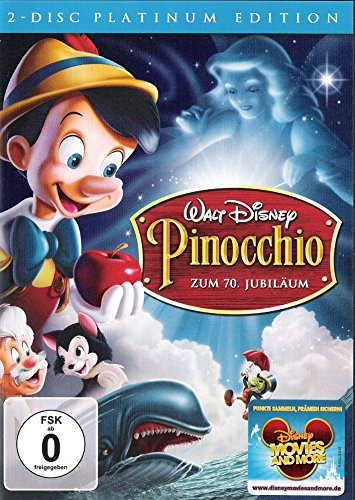 Pinocchio, Platinum Edition (2-Disc) Walt Disney