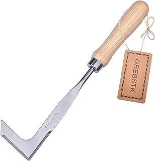 GREBSTK Crack Weeder Solid Wood Handle Stainless Steel Lawn Yard Gardening Tool