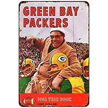 1962 Green Bay Packers Vintage Reproduction Metal sign 8 x 12