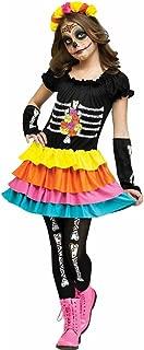 Big Girls' Dia De Los Muertos Costume