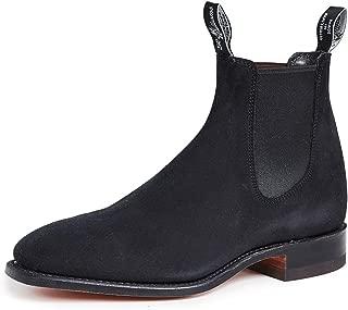 Best black chelsea boots suede men Reviews