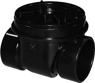 Oatey 43901 Backwater Valve, 3 In, Abs, 3-Inch