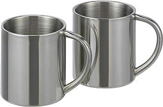 2 Stück Edelstahl Thermobecher Becher Thermosbecher Kaffeebecher Isolierbecher Tassen