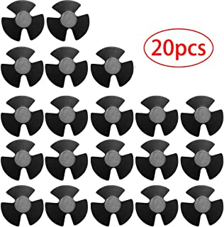 Auto-Parts-Eshop Hood & Trunk Insulation Trim Bumper Cover Retainer Clips for Chrysler Dodge Ram #4878883AA (Pack of 20)