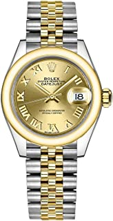Lady Datejust 28 Champagne Dial Automatic Two Tone Jubilee Watch 279163CRJ