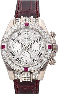 Rolex Daytona Automatic Diamond Dial Watch 1165994RU-0002 (Pre-Owned)