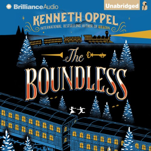 The Boundless audiobook cover art