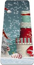 Yogamat - kerstman cadeau - Extra dikke antislip oefening & fitnessmat voor alle soorten yoga, pilates & vloertrainingen