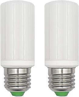 Bombillas LED 6 W E27 Corn LED de rosca pequeña Edison (Equivalente a 60 W-75 W halógena) AC 100 – 265 V no regulable 6000 K bombillas de vela blanca fría, 2 unidades