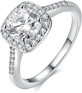 cheap cz engagement rings