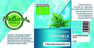 Natura Premium Aceite Esencial Citronela Bio 30 Ml. 30 ml