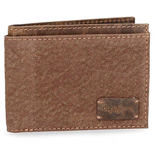 Line Kreditkartenhülle, 12 cm, 0.11 liters, Braun (Marrón)
