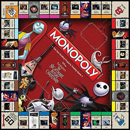 Jeu de société Monopoly L'étrange Noël de Monsieur Jack