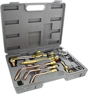 ABN Oxygen & Acetylene Torch Kit – 10 Pc Welding Kit Metal Cutting Torch Kit, Portable Cutting Torch Set Welder Tools