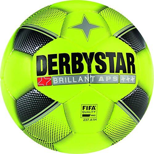 Derbystar Brillant APS, 5, gelb schwarz silber, 1731500529