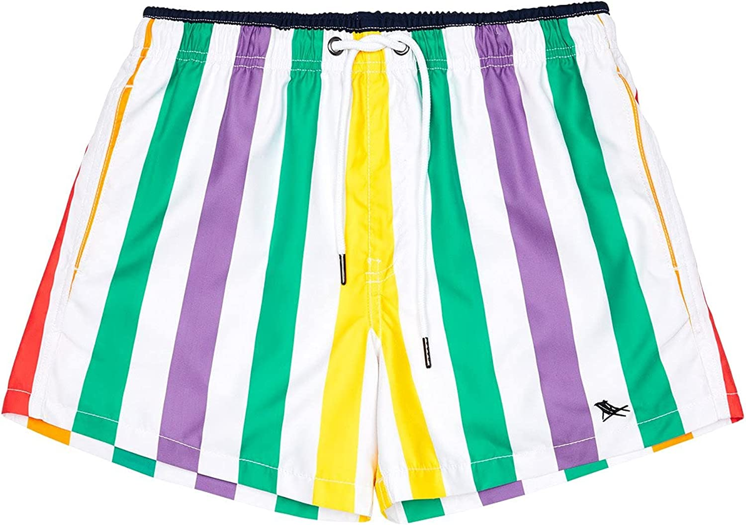 Dock & Bay Quick Dry Mens Swim Trunks - Made from 100% Recycled Water Bottles - Swim Shorts