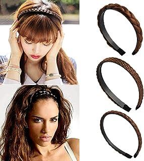 Accessori per capelli principessa Gioielli di moda per donna di design premium Fascia per capelli vintage color caramella Alice 4 cm di larghezza e 1 cm di spessore