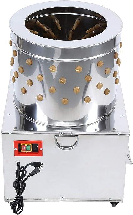 Bavnnro 2HP 110V 20Inch Chicken Plucker Machine,Stainless Steel ...