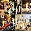 Forever-Speed-2030405060er-LED-Lichterkette-Kabellos-Weihnachtskerzen-Christbaumschmuck-Weihnachtsbaumbeleuchtung
