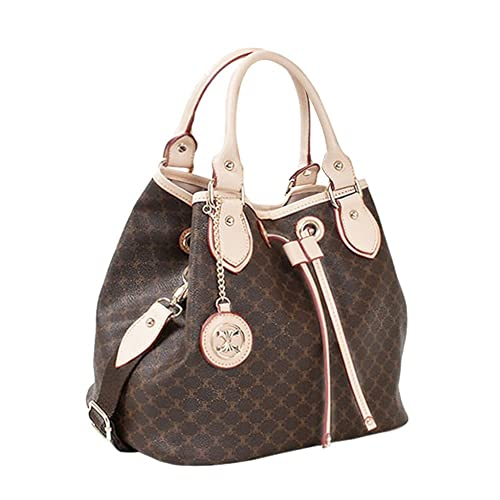 Drawstring Shoulder Handbag