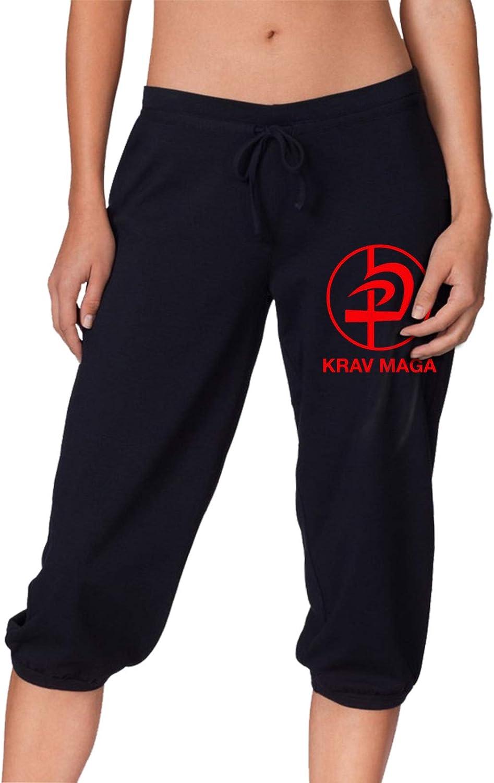 LNGCUNHAA Krav MAGA Logo Women's Pants Casual Athletic Comfy Swe