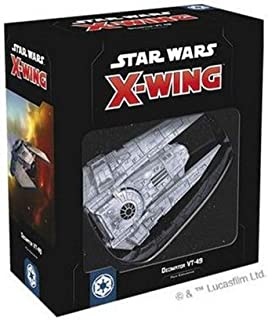 Asmodee Italy Star Wars X-Wing Decimator VT-49 Expansion Table Game with Gorgeous Miniature, Colour, 9966