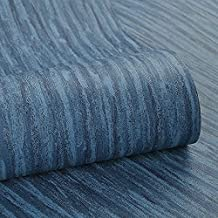 Special/Simple Non-Woven Striped Wallpaper Living Room Bedroom Wallpaper Fog Color (Color : Gray Blue, Size : 0.53 * 10m)