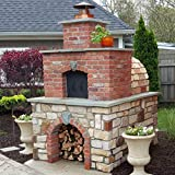 Brick Pizza Oven • Wood Fired Pizza Oven - Build a Large Brick Oven in Your Backyard with The Foam...