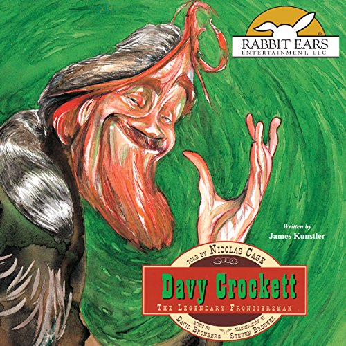 Davy Crockett audiobook cover art