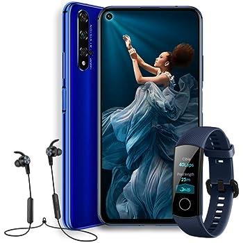 Honor View 20 - Smartphone (Pantalla de 6,4, cámara trasera 48 MP, cámara frontal 25 MP, 6GB RAM, 128 GB batería 4000mah), sin funda, color Negro: Amazon.es: Electrónica