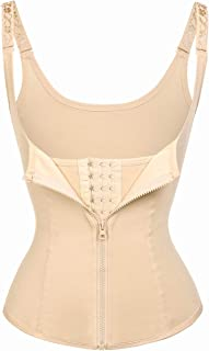 Wonder-beauty Women's Waist Trainer Cincher Underbust Corset Slimming Shapewear Worked Out Sweat Vest Body Shaper Top