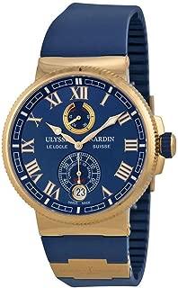 Ulysse Nardin Marine Chronometer Manufacture 18k Rose Gold Watch - 1186-126-3/43