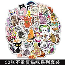 Aohua Cincuenta Gato Series Graffiti Pegatinas Animal Dibujo Cuerpo Pegatinas Coche Equipaje Skateboards Guitarra Ordenador Pegatinas - Kitty