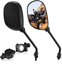 Set of ATV Rear View Mirror, ISSYAUTO 360 Degrees Ball-Type Side Rearview Mirror with 7/8