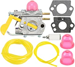 Harbot SST25 Featherlite Carburetor with Fuel Line Kit for Poulan Weed Eater FL20 FL20C..
