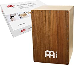 Meinl Make Your Own Cajon Kit with Snares - MADE IN EUROPE - Ovangkol Frontplate / Baltic Birch Body, Includes Easy to Follow Manual (MYO-CAJ-OV)