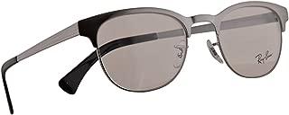 Ray-Ban RB 6317 Eyeglasses 51-20-145 Gunmetal w/Demo Clear Lens 2553 RX RX6317 RB6317
