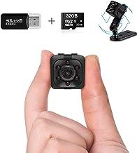 Mini Spy Camera Wireless Hidden Spy Cop Cam Seen on TV, 1080P Mini Hidden Camera with 32G SD Card, Nanny Cam Night Vision ...